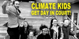 Climate kids get their day in court